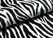Peel & Stick Faux Fur [Zebra : 50cm X 50cm] Self-adhesvie Faux Fur - Made in Korea
