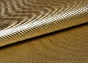 "Peel & Stick 3D Carbon Fibre Fabric - Not vinyl [Gold : 50cm(19.68"") X 70cm(27.55"")] Super Flexible Self-adhesive Fabric - Made in Korea - Ship by Pantos Express."