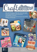 Craft Attitude Adhesive Sheets, 8-Sheet, 22cm by 28cm