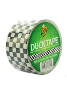Duck Printed Duct Tape 4.8cm . 10 yd checker [PACK OF 3 ]