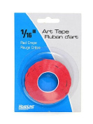 HeadLine Graphic Art Tape red 0.2cm . [PACK OF 6 ]