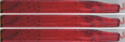 Metallic Red Waterstons Scottish Sealing Wax (With Wick) - 3 Sticks