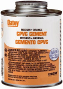 Oatey Company 31128TV Orange Medium Cpvc Pipe Cement 120ml