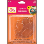 Plaid Mod Podge 12920 Acrylic Shapes, Designer Shapes