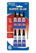 """WennoW """"Super Glue, 3 grammes 5mls, 6 Per Pack"""