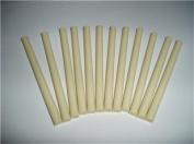 Ivory Faux Wax Glue Sticks mini X 10cm 12 sticks