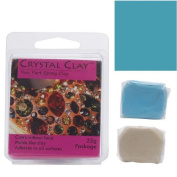 Crystal Clay 2-Part Epoxy Clay Kit 'Turquoise' 25 Grammes