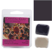 Crystal Clay 2-Part Epoxy Clay Kit 'Dark Purple' 25 Grammes