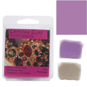 Crystal Clay 2-Part Epoxy Clay Kit 'Violet' 25 Grammes