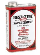 Best-Test White Rubber Paper Cement, 0.9l
