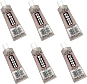 E6000 (Goop) Adhesive Sealant Glue ~Wholesale Lot of Six Big 110ml Tubes