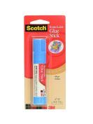3M Scotch Glue Stick Restickable Adhesive 10ml [PACK OF 12 ]