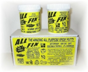 All-Fix Epoxy Putty Kit 350ml Set - Arts & Crafts Jewellery Design - Sculpting - Moldeling - Underwater Epoxy - Repair & Restoration - All Fix By Cir-Cut Corporation - The All Purpose Epoxy Repair Material - 1001 Uses !