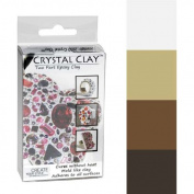 Crystal Clay 2-Part Epoxy Clay Kit - Neutrals Colour Mix 100g
