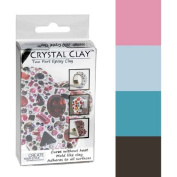 Crystal Clay 2-Part Epoxy Clay Kit - Festive Colour Mix 100g