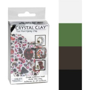 Crystal Clay 2-Part Epoxy Clay Kit- Basic Colour Mix 100g