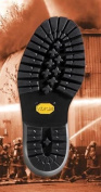 Vibram # 109 Logger Sole and Heel Unit Black Size 8 - Shoe Repair - 1 Pair