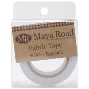 Maya Road FT2375 Fabric Tape, Solids, Eggshell