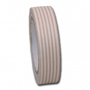 Maya Road FT2362 Fabric Tape, Stripes, Khaki Beige