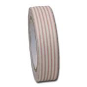 Maya Road FT2362 Fabric Tape, Stripes, Khaki Beige
