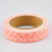 Lychee Craft Flower Vine Fabric Washi Tape Decorative DIY Tape