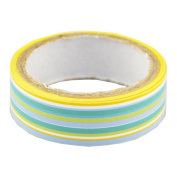 Lychee Craft Stripe Blue Decorative Craft Paper PVC Tape DIY Making Sticker