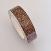 Lychee Craft Glitter Coffee Sparkle Flake Vinyl Tape Deco Washi Tapes