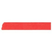 Japanese Washi Masking Tape - Maste Mini Solid Red Single Roll