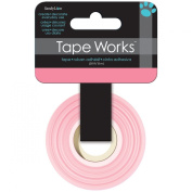 Tape Works Tape, Solid Colour Pink