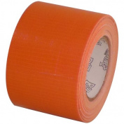 Orange craft duct tape 5.1cm x 10 yds on 3.8cm core