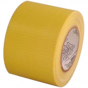 Yellow craft duct tape 5.1cm x 10 yds on 3.8cm core