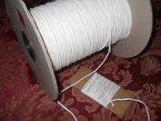 Square Braided 1/0 Cotton Wick 10 Yards