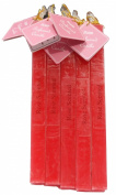 Auroshikha Rose Scented Square Candle - 1.6 cm x 18.7 cm