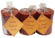 Auroshikha Sandal Perfumed Coloured Candle