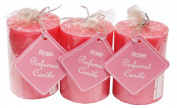 Auroshikha Rose Perfumed Coloured Candle