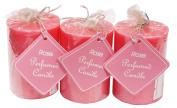 Auroshikha Rose Perfumed Coloured Candle