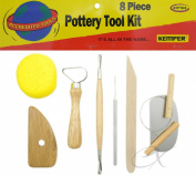 Kemper Pottery Tool Kit -8 Pieces Great Quality