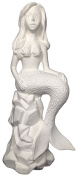 Ceramic Bisque - Ready to Paint - Mermaid Princess