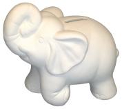 Unfinished Ceramics - Ready to Paint - Elephant Bank