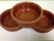 Earth Pottery for Rice Puding 3 Pcs