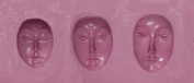 "FlexiMold Silicon Mould, ""Faces"" Mould 1"