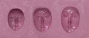 """FlexiMold Silicon Mould, """"Faces"""" Mould 1"""