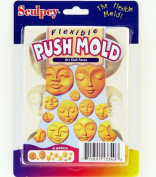 Sculpey Flexible Push Mould - Art Doll Faces