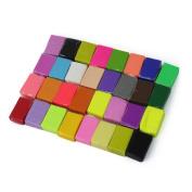 32pc Malleable Polymer Soft Effect Modelling Clay Blocks Plasticine Craft DIY Toy