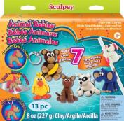 Scupley Animal Babies Activity Kit