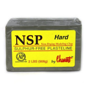 Chavant Clay - NSP Hard Green - Sculpting and Modelling Clay