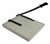 Paper Cutter Guillotine Style 30cm Cut Length X 25cm Inch Metal Base Trimmer