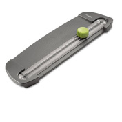 Swingline® - SmartCut Compact Personal Rotary Trimmer, 5 Sheets, Plastic Base, 13cm x 42cm - Sold As 1 Each - Personal, portable trimmer is ideal for home, office and school.