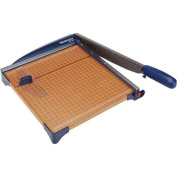 Westcott Guillotine Paper Trimmer With Wood Base, 30cm