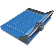 Photo-Max Deluxe Series Rotary Paper Trimmer, Self-Sharpening, 32cm , Royal Blue, Metal Base